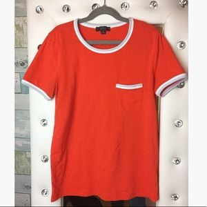 J.Crew Red/Orange T-Shirt